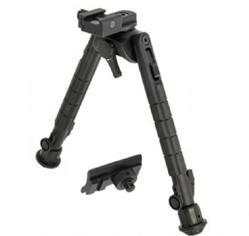 "Leapers UTG Recon 360 TL Bipod 8-12"" Center Picatinny TL-BP03-A"